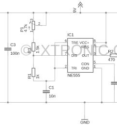 schematic tv remote control circuit ir jamme 700x447 tv remote control jammer circuit 555 ir remote [ 1374 x 877 Pixel ]