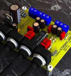 preamplifier stereo tda1524a bass treble 3d board [ 1035 x 988 Pixel ]
