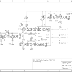 2000 Watts Power Amplifier Schematic Diagram 4 Way Trailer Wiring Harness Infinity Gold Cooling