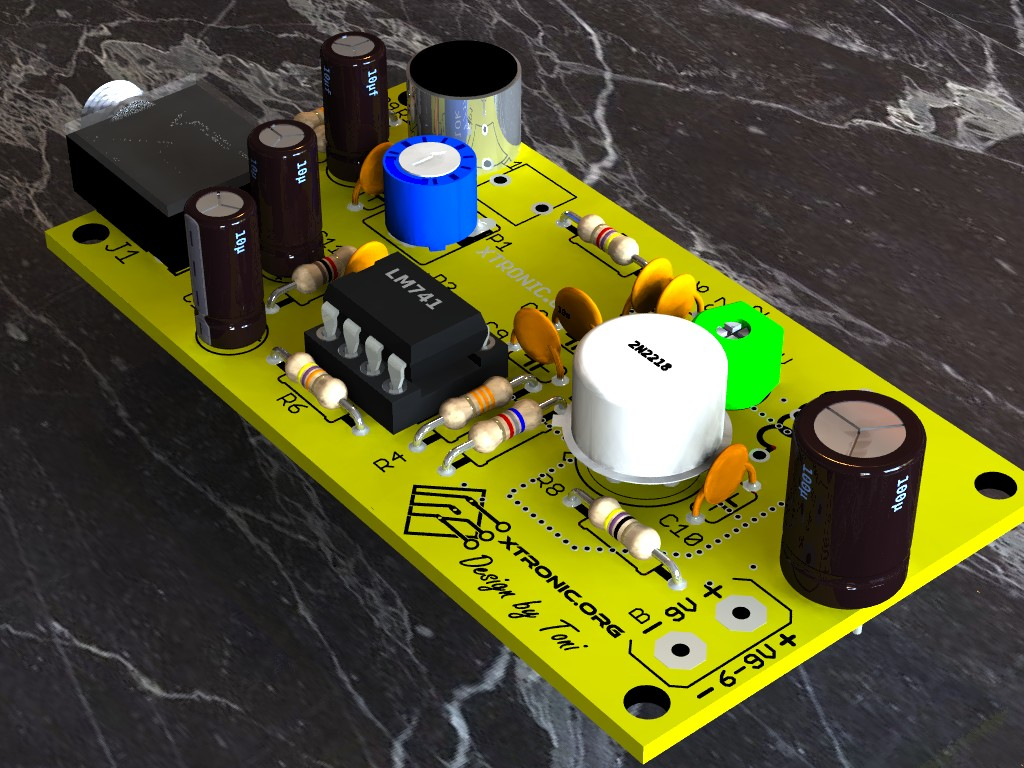 Op Amp Siren Sound Using Ic 741