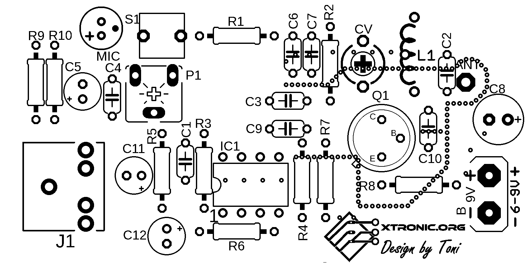 Microphone Jack Schematic