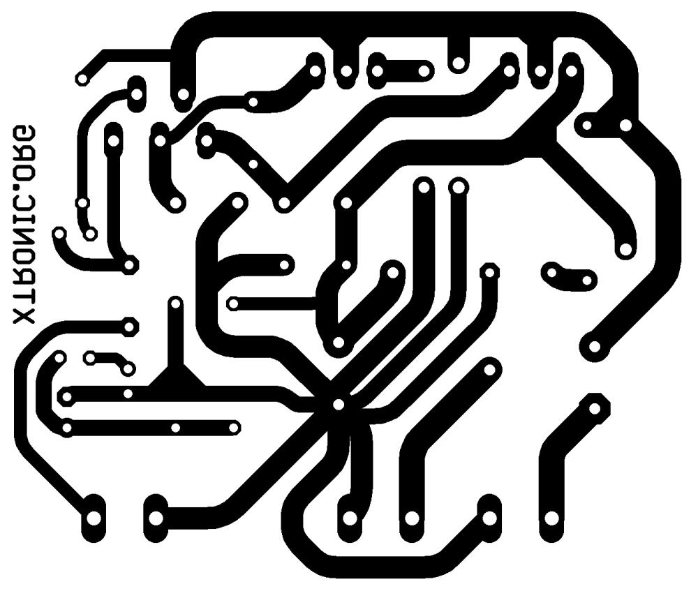 medium resolution of tda2030 transistors bd908 bd907 18w amplifier pcb