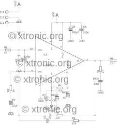 lm3886 minimus power gainclone schematic [ 1500 x 1166 Pixel ]