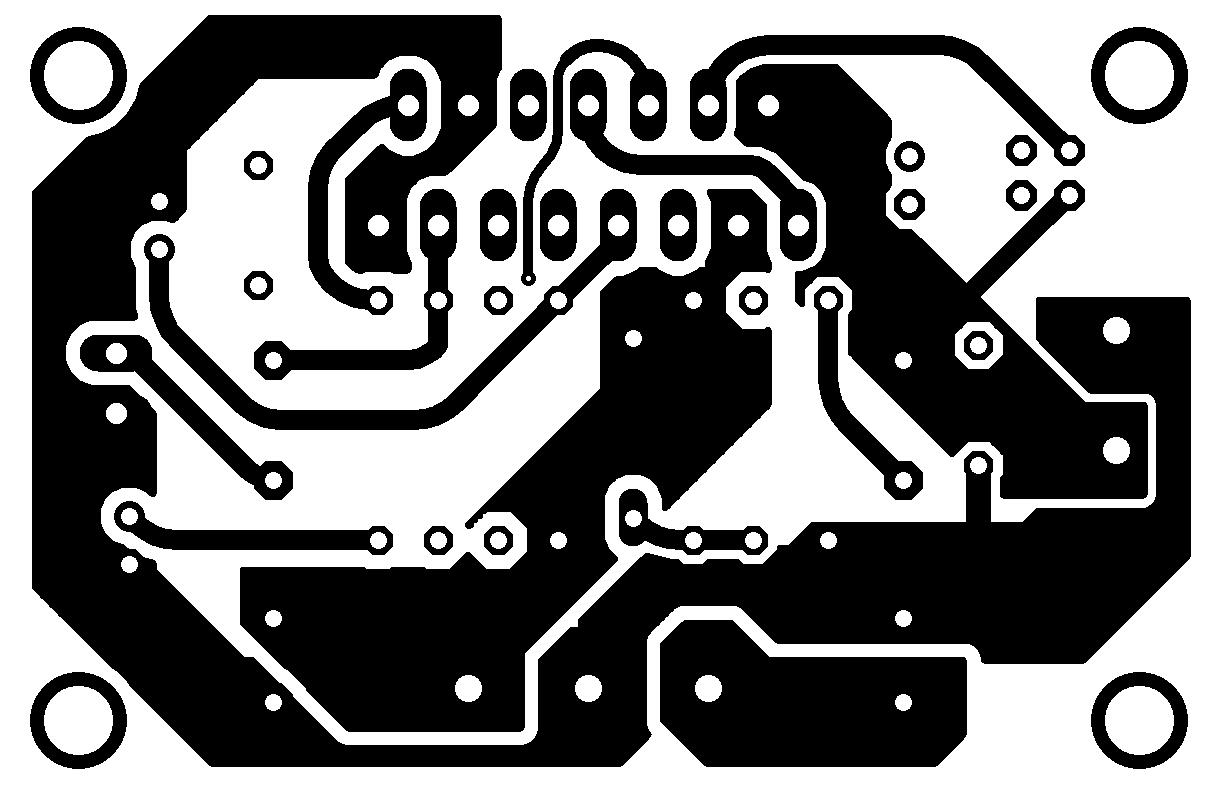 Audio Power Amplifier With Ic Tda Or Tda Minimus
