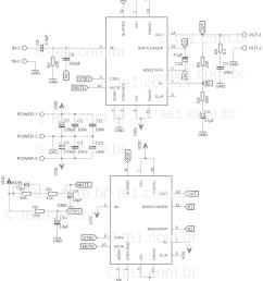 tda7293 in parallel schematic circuit [ 1280 x 1556 Pixel ]