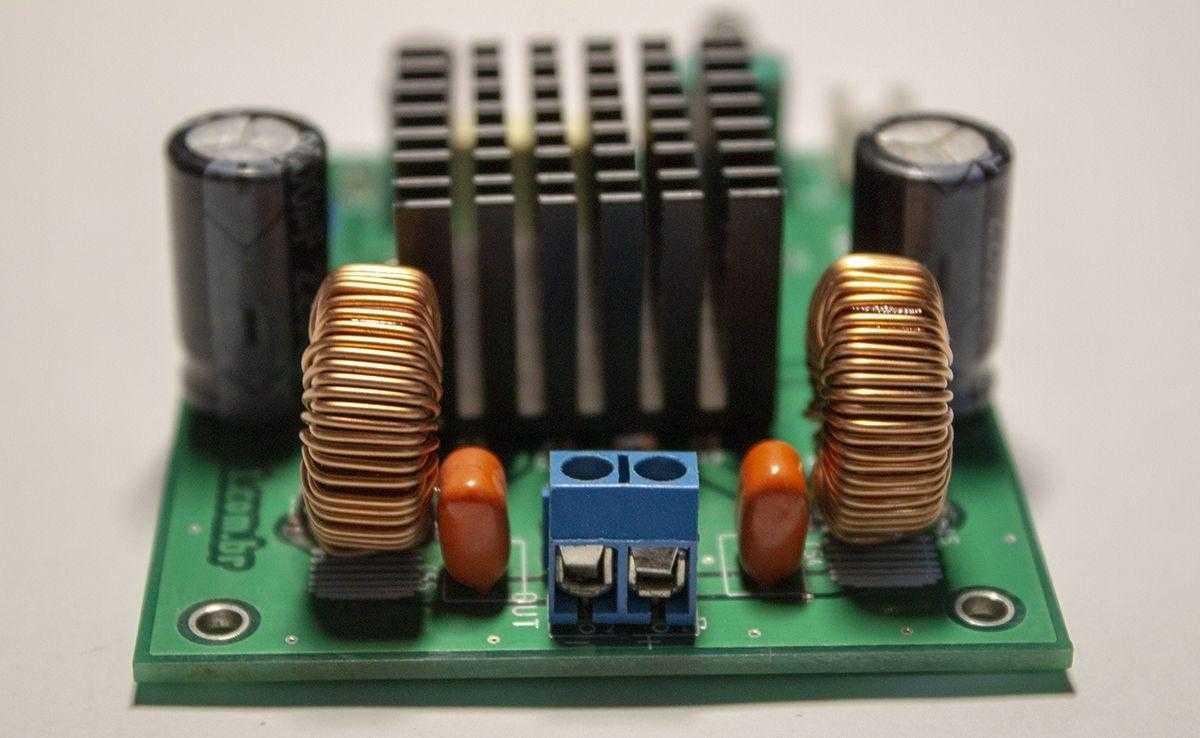 315 W Class D Amplifier Amplifier Circuit Design