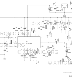 schematic of the fm radio circuit with tda7000 [ 1280 x 869 Pixel ]