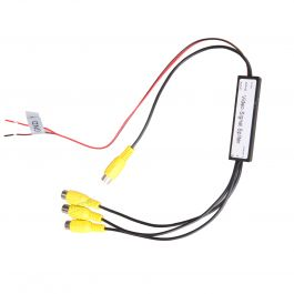 1 to 3 Channels RCA Video Signal Booster / Splitter Buy