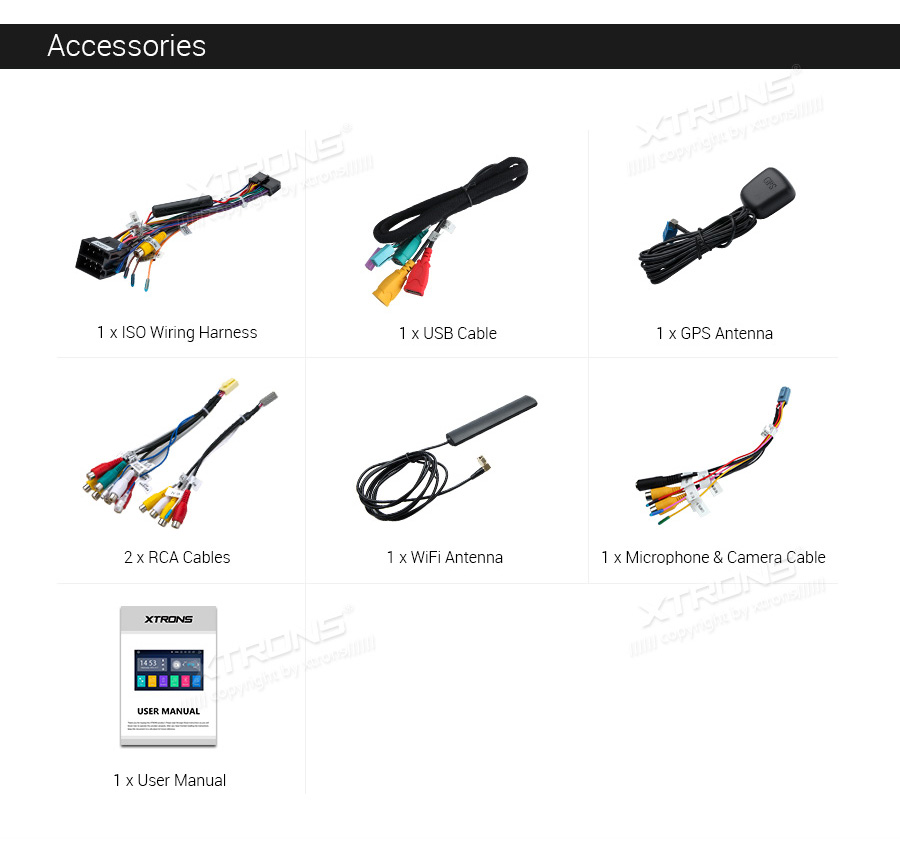 Single Din Android 10 Multifunctional Car Stereo (DA100L