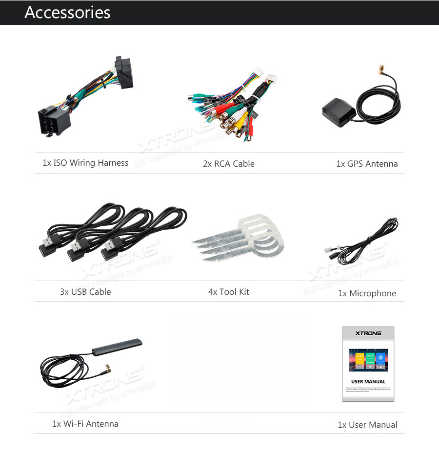 Xtrons For Audi A4 S4 B6 B7 RS4 Android 10.0 Car Stereo
