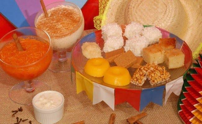 Receita de 13 Doces Tradicionais de festa junina