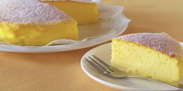 Receita de Cheesecake Japones com 3 ingredientes