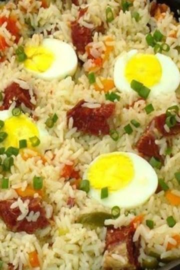 Receita de arroz de carreteiro