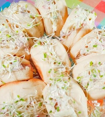 Receita de Beirutinho de rosbife com molho de wasabi