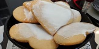 Receita de Biscoitinhos Corações de Mel