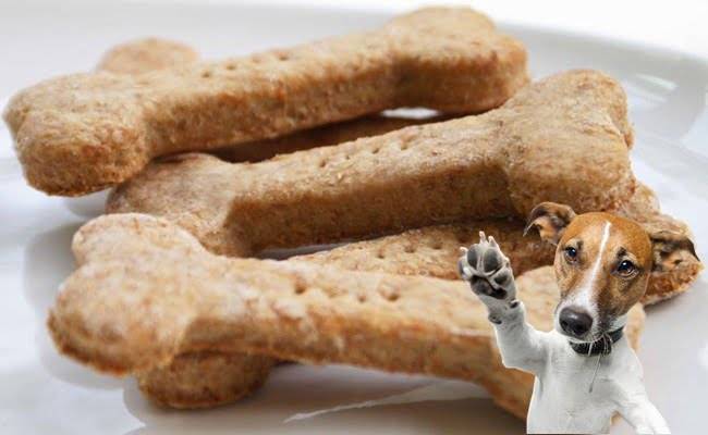 Receita de Biscoito Canino Caseiro