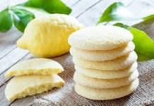 Receita de Biscoito amanteigado de limão