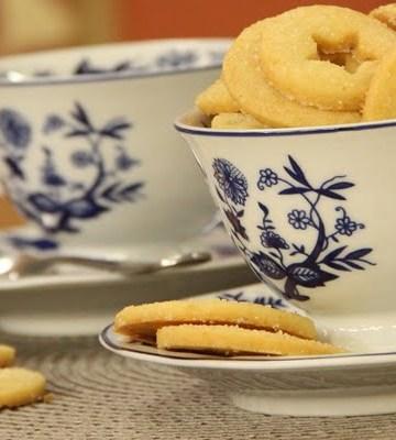 Biscoitos Amanteigados de Limão