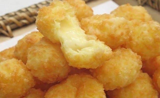 Receita de Bolinha de queijo super rápida