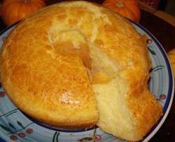 Receita de Bolo Pão de Queijo delicioso