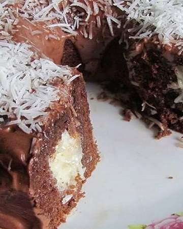 Bolo Surpresa de Chocolate