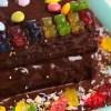 Receita de Bolo de Chocolate com Gomas