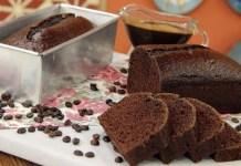 Receita de Bolo de Chocolate e Café com Calda de Capuccino