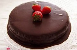 Receita de Bolo de Chocolate Simples