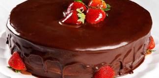 Receita de Bolo mousse de chocolate simples