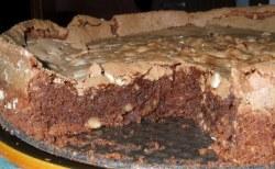 Receita de Bolo úmido de chocolate com avelãs