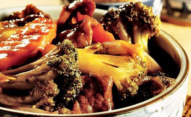 Receita de Carne Chop Suey