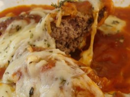 Carne Moída a Parmigiana