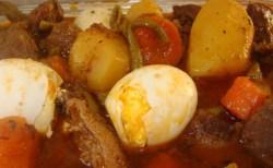 Receita de Carne Portuguesa