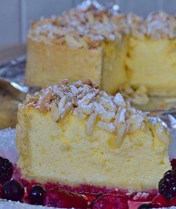 Receita de Cheesecake de forno