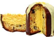 Chocotone trufado com Mousse de Maracujá