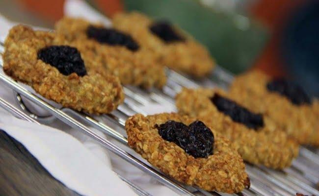 Cookies de Aveia e Banana