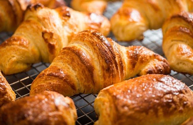 Receita de Croissant Simples