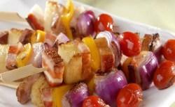 Receita de Espetinho de Bacon