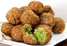 Receita de Falafel (Bolinhos de Grão-de-Bico)