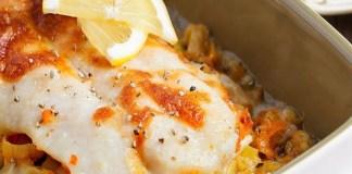 Receita de Filetes de Peixe ao Molho Bechamel