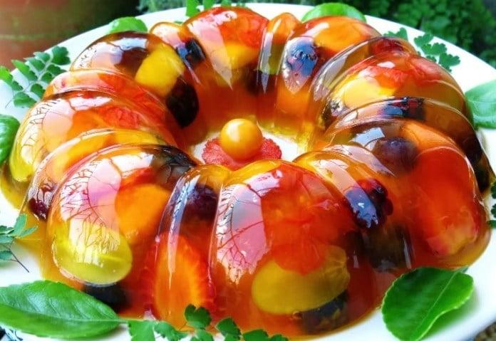 Receita de Gelatina com Frutas