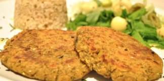 Receita de Hambúrguer Vegetariano