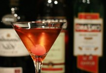 Receita de Manhattan Drink Cocktail