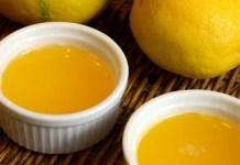 Receita de Molho de Manteiga e limão,