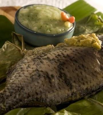 Receita de Moqueca de peixe com pirão