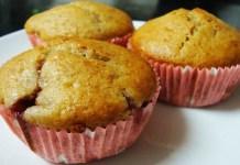 Receita de Muffins de maça e iogurte