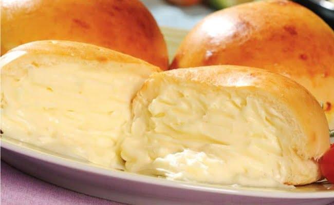 Receita de Pão de Batata Recheado