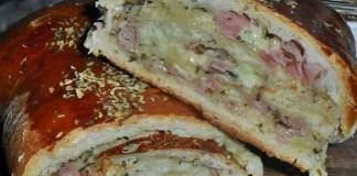 Receita de Pão de Pizza Rápido