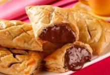 Receita de Pão folhado de chocolate Nutella
