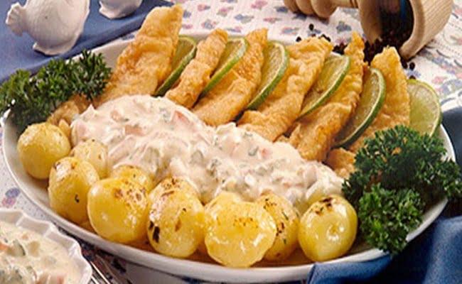 Receita de Peixe Empanado com Molho Tártaro